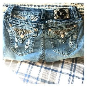 Miss Me Signature Slim Bootcut Jeans